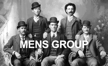 February Men's Group on Tuesday 19th at 7pm