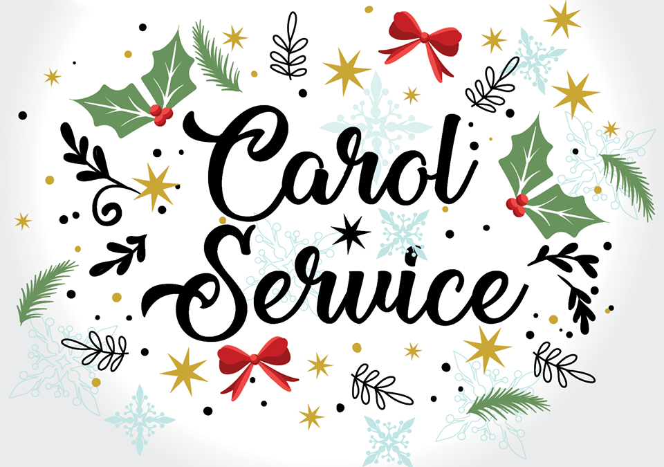 Parish Carol Service Sunday 23/12/18 @7pm
