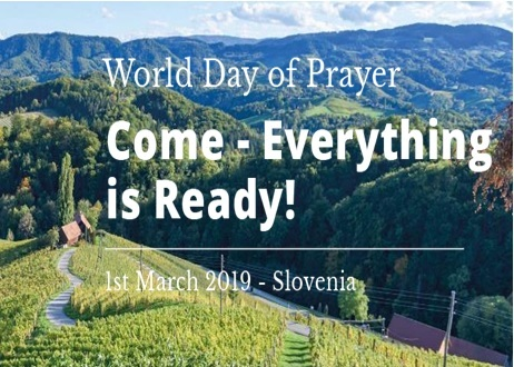 World Day Of Prayer on Friday 1st of March @St Enoder at 2pm